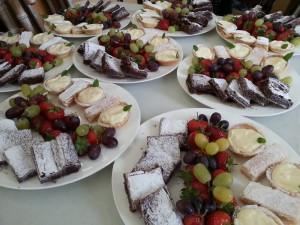 Dessert sharing platters